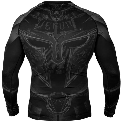 Venum Gladiator 3.0 Rashguard - Long Sleeves – Black/Black picture 4