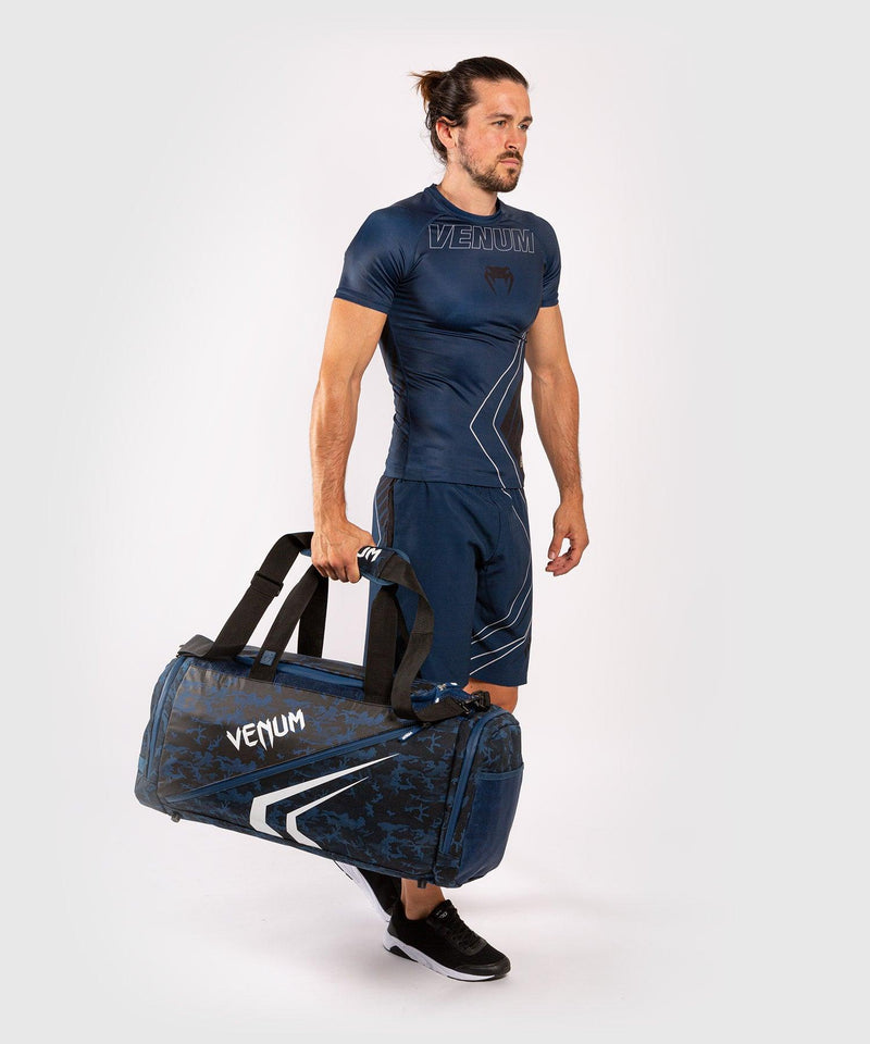 Venum Trainer Lite Evo Sports Bags - Blue/White picture 2
