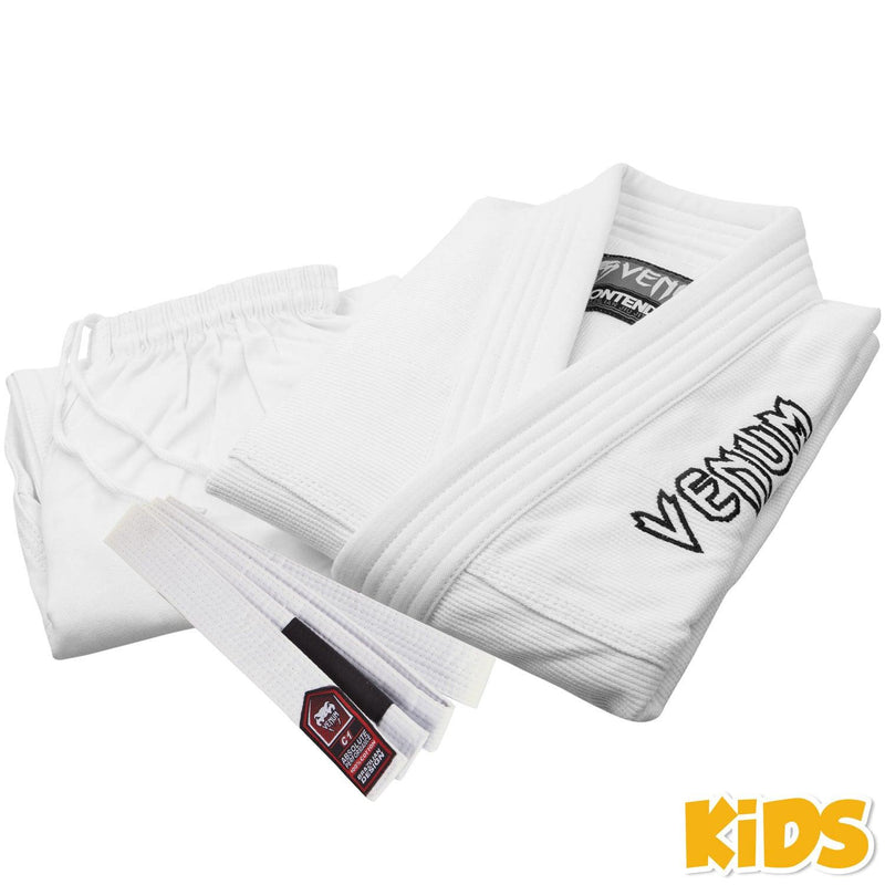 Venum Contender Kids BJJ Gi (Free white belt included) - White picture 11