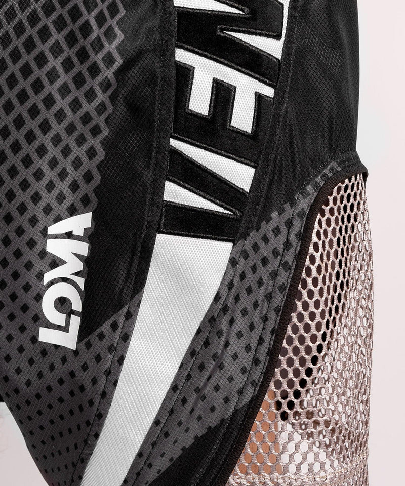 Venum Arrow Loma SIgnature Collection Boxing Shorts - Black/White picture 4