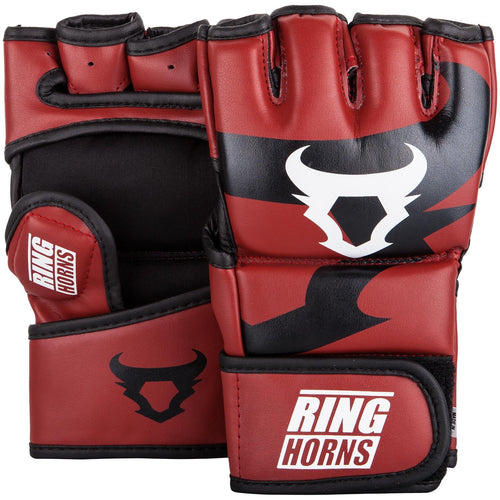 Ringhorns Charger MMA Gloves - Red picture 1