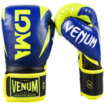 Venum Hammer Pro Boxing Gloves Loma Edition- Velcro – Blue/Yellow picture 2