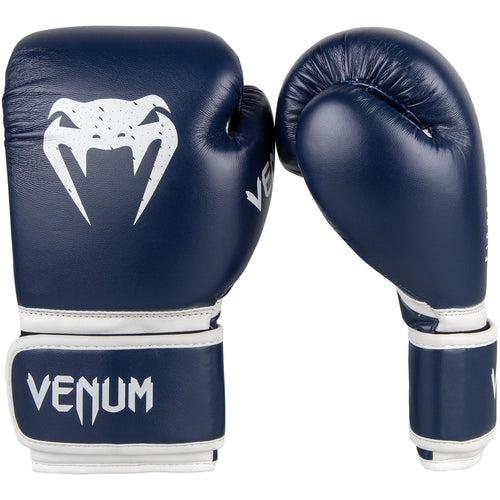 Venum Signature Kids Boxing Gloves - Navy Blue picture 2
