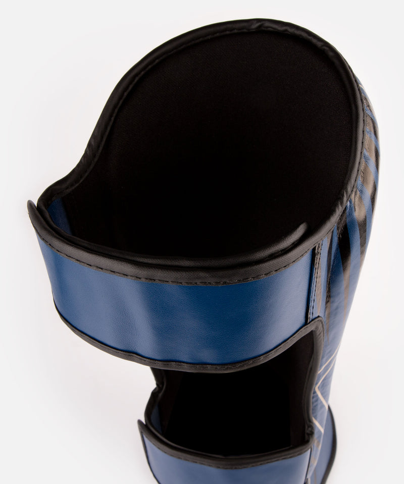 Venum Contender 2.0 Shin Guards - Navy/Sand picture 3