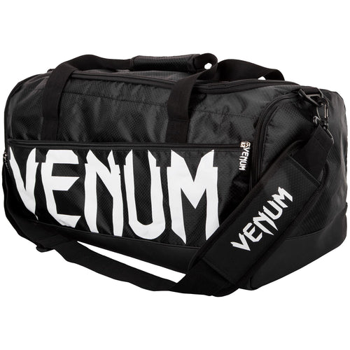 Venum Sparring Sport Bag – Black/White picture 1