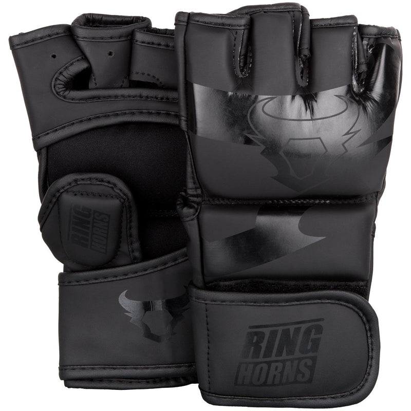 Ringhorns Charger MMA Gloves - Black/Black picture 1