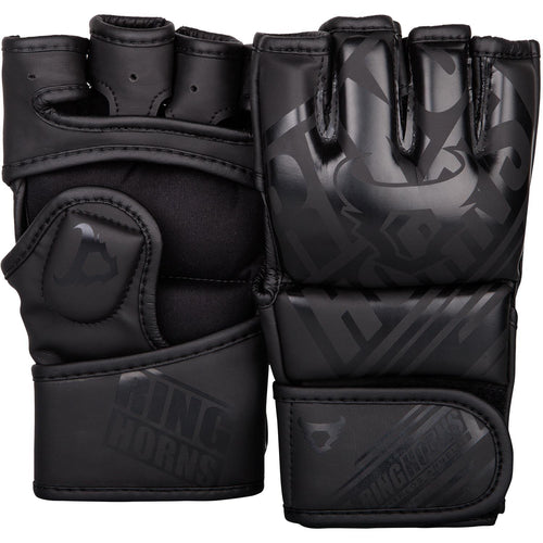 Ringhorns Nitro MMA Gloves - Black/Black picture 1
