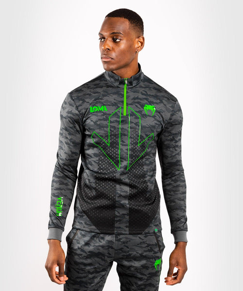 Venum Arrow Loma Signature Collection Collared Zip Sweatshirt - Camo