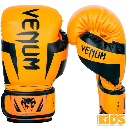 Venum Elite Boxing Gloves Kids - Exclusive - Fluo orange picture 1