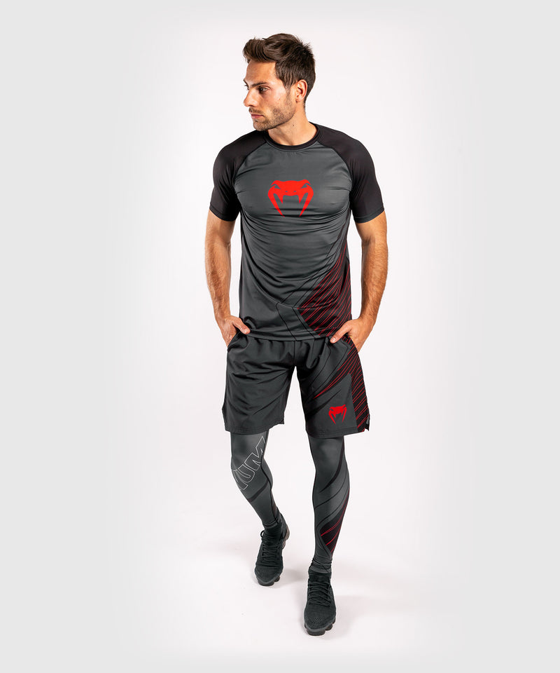 Venum Contender 5.0 Dry-Tech T-shirt – Black/Red picture 7