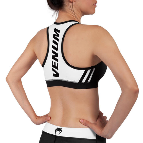 Venum Power 2.0 Sport Bra - For Women – Black/White picture 2