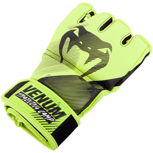 Venum Training Camp 2.0 MMA Gloves - Black/Neo Yellow picture 2