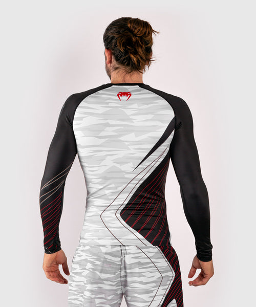 Venum Contender 5.0 Rashguard - Long sleeves - White/Camo picture 2