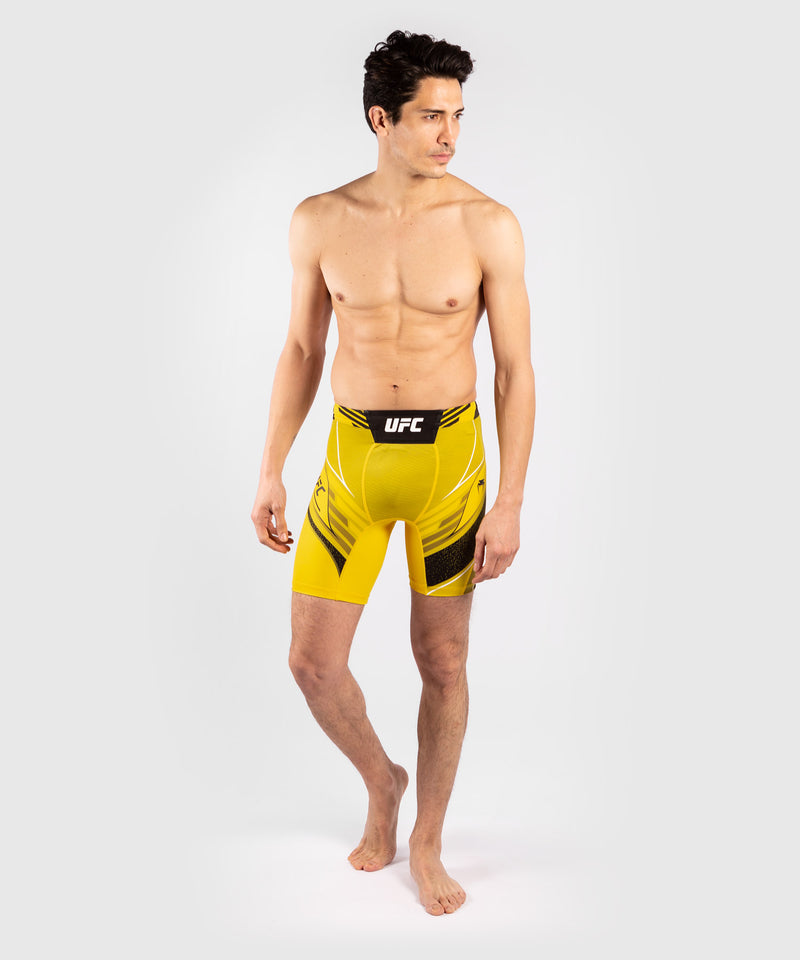 UFC Venum Authentic Fight Night Men's Vale Tudo Shorts - Short Fit – Yellow Picture 7
