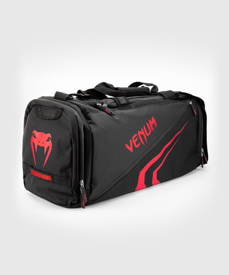 Venum Trainer Lite Evo Sports Bags - Black/Red picture 4