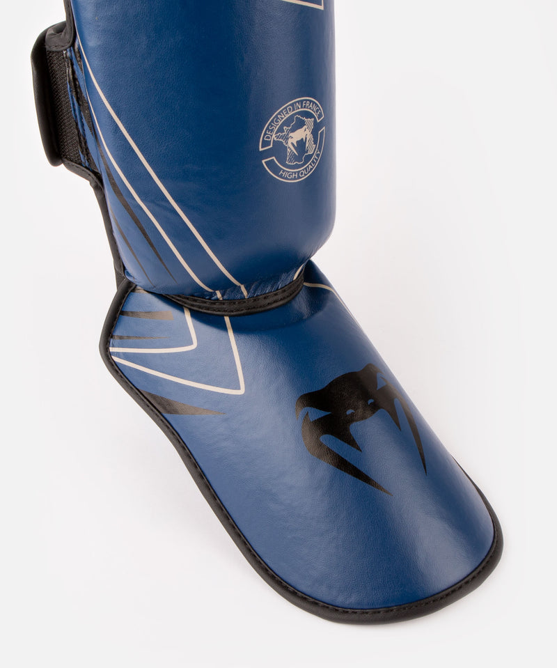 Venum Contender 2.0 Shin Guards - Navy/Sand picture 2