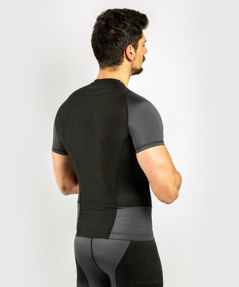 Venum G-Fit Rashguard - Short Sleeves - Grey/Black picture 2