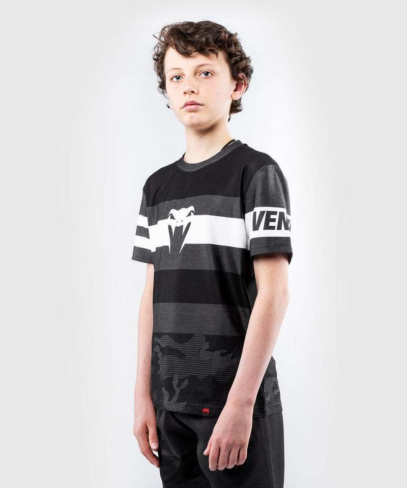 Venum Bandit Dry Tech T-shirt - for kids – Black/Grey picture 3