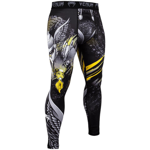 Venum Viking 2.0 Spats - Black/Yellow picture 1