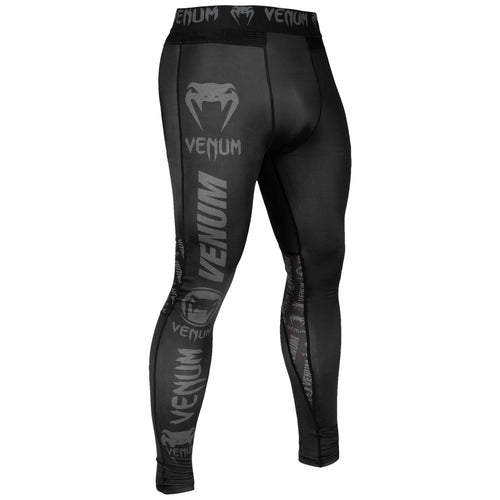 Venum Logos Tights – Black/Black picture 1