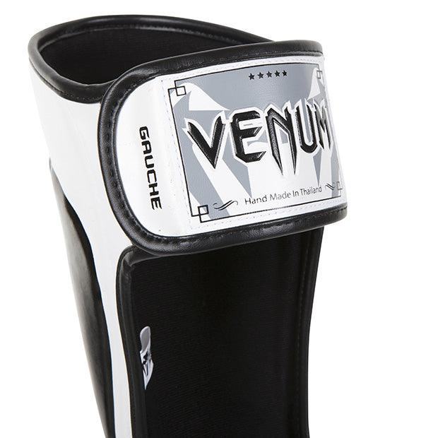 Venum Predator Standup Shin guards – Black/Ice picture 4
