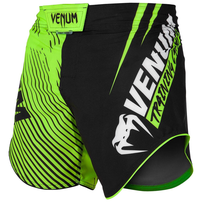 Venum Training Camp 2.0 Fightshorts - Black/Neo Yellow picture 2