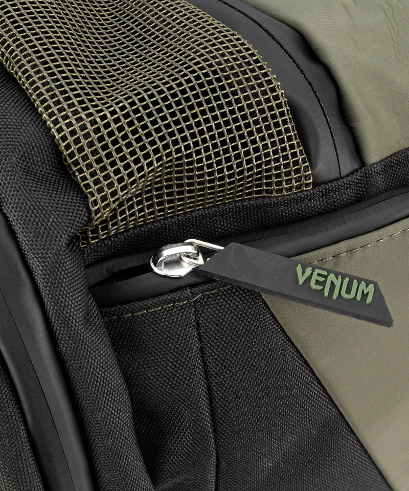 Venum Trainer Lite Evo Sports Bags - Khaki/Black picture 6