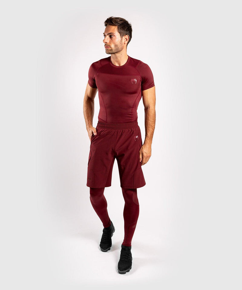 Venum G-Fit Rashguard - Short Sleeves - Burgundy picture 5
