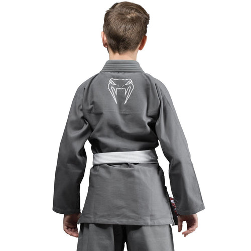 Venum Contender Kids BJJ Gi (Free white belt included) - Grey picture 2
