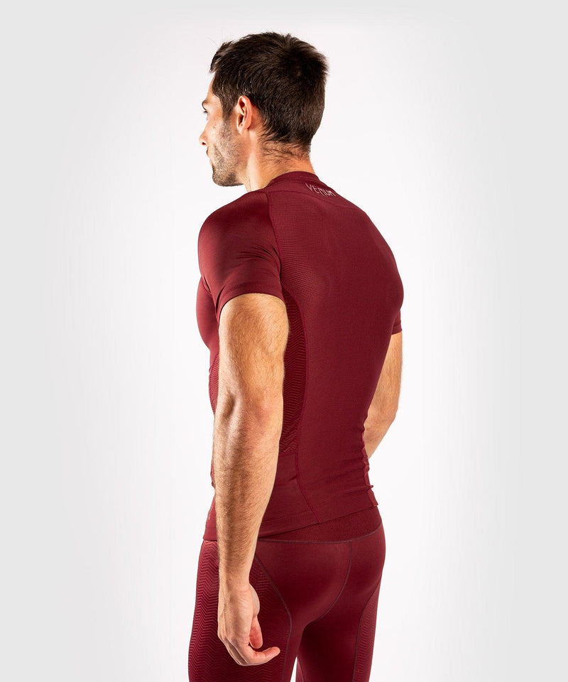 Venum G-Fit Rashguard - Short Sleeves - Burgundy picture 4