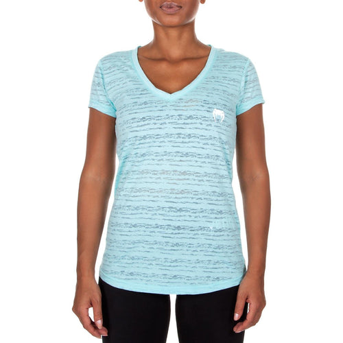 Venum Essential V Neck T-Shirt - Light Latigo Bay picture 2