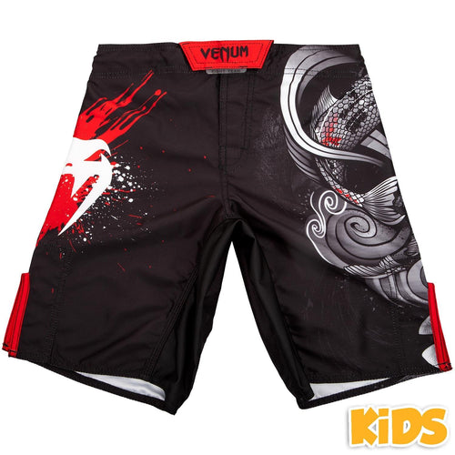 Venum Koi 2.0 Kids Fightshorts - Black/White picture 1