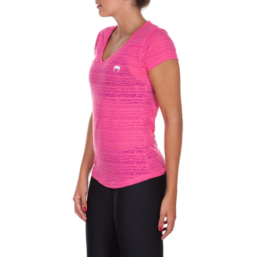 Venum Essential V Neck T-Shirt - Pink picture 2