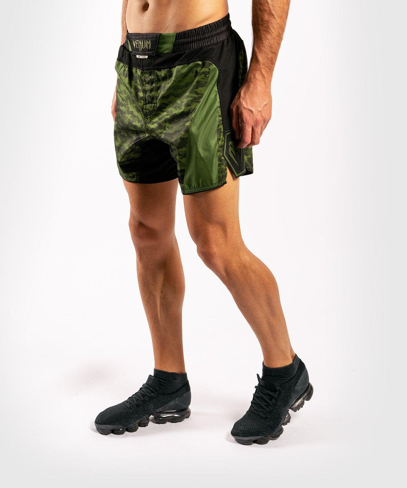 Venum Trooper Fightshorts - Forest camo/Black picture 2