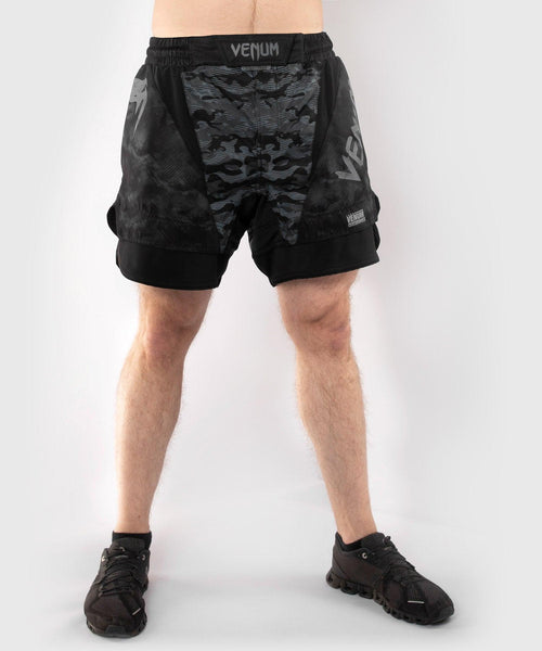 Venum Defender Fightshort - Dark camo picture 1