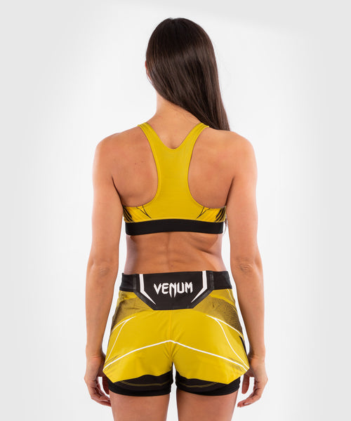 UFC Venum Authentic Fight Night Women's Sport Bra – Yellow Picture 2