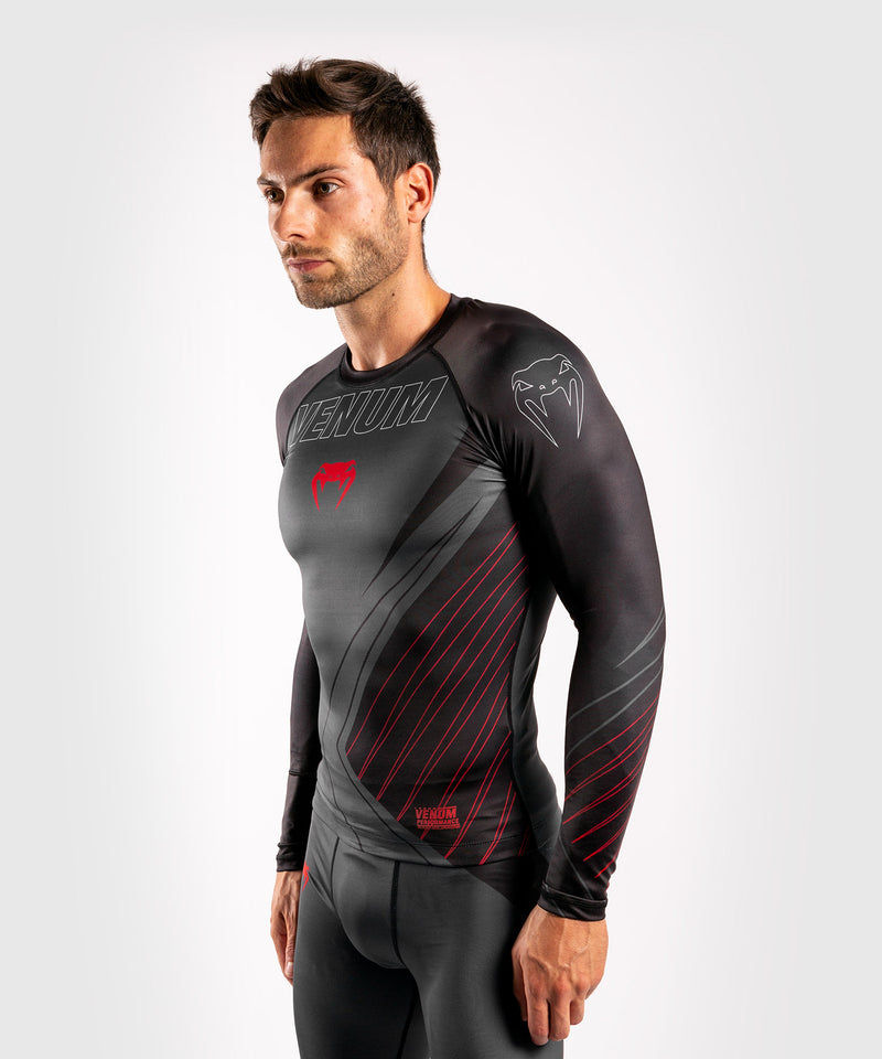 Venum Contender 5.0 Rashguard - Long sleeves - Black/Red picture 3