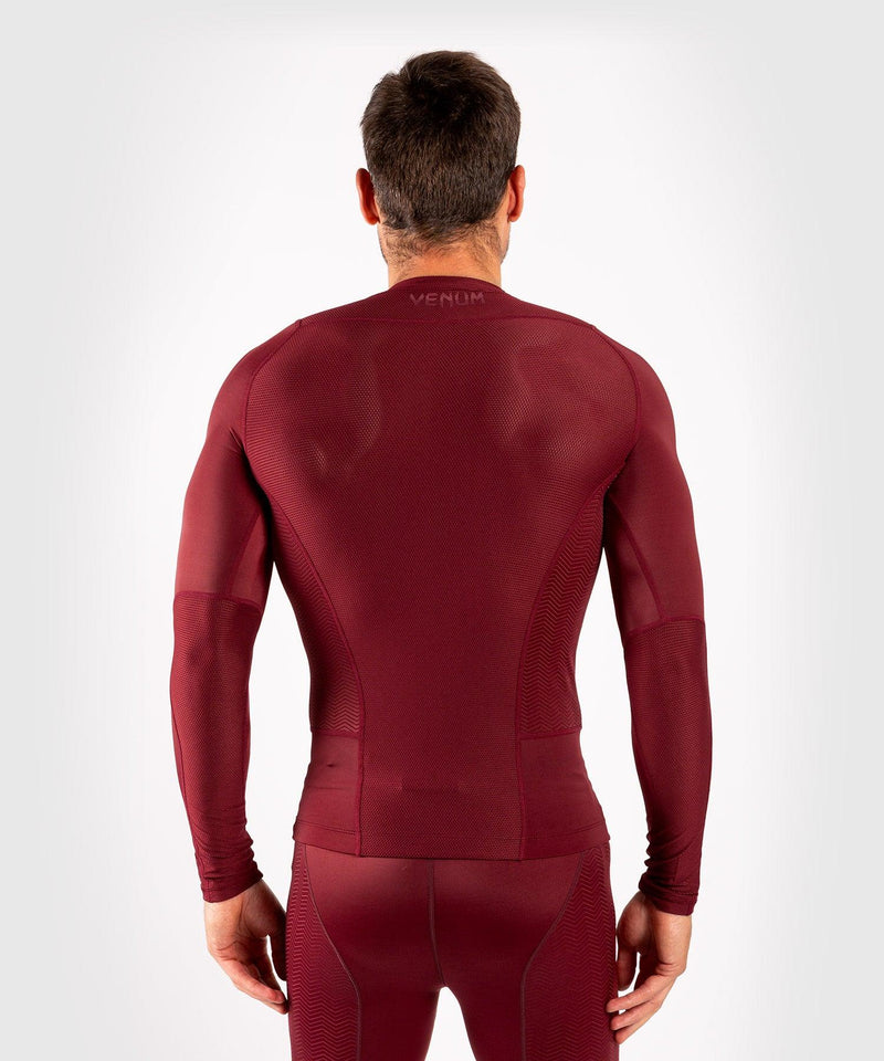 Venum G-Fit Rashguard - Long Sleeves - Burgundy picture 4