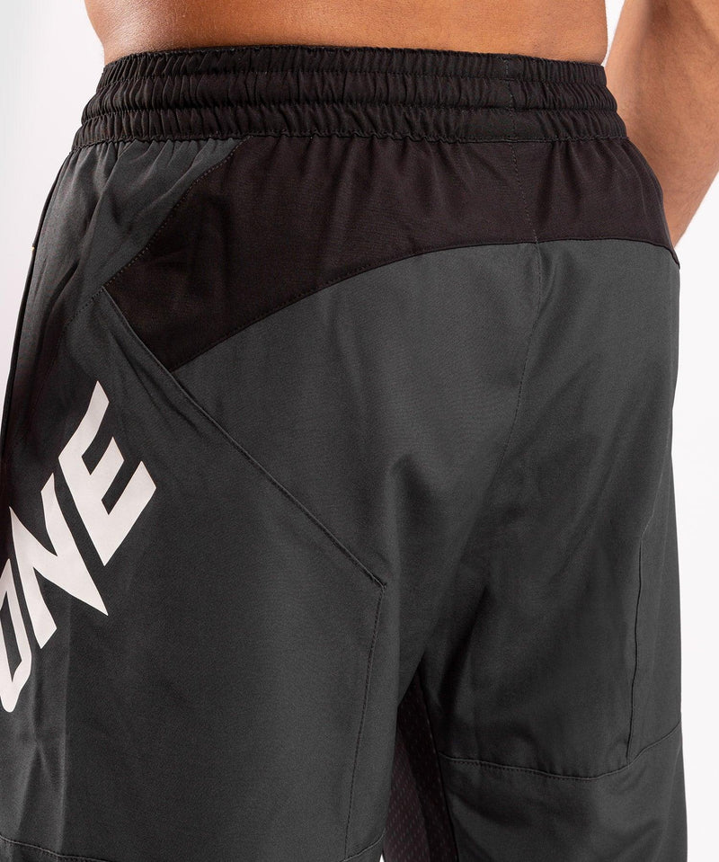 Venum ONE FC Impact Training shorts - Grey/Yellow - picture 7