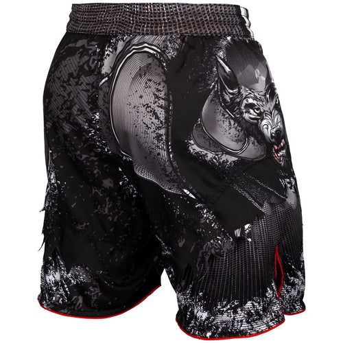 Venum Werewolf Fightshorts - Black/Grey picture 3
