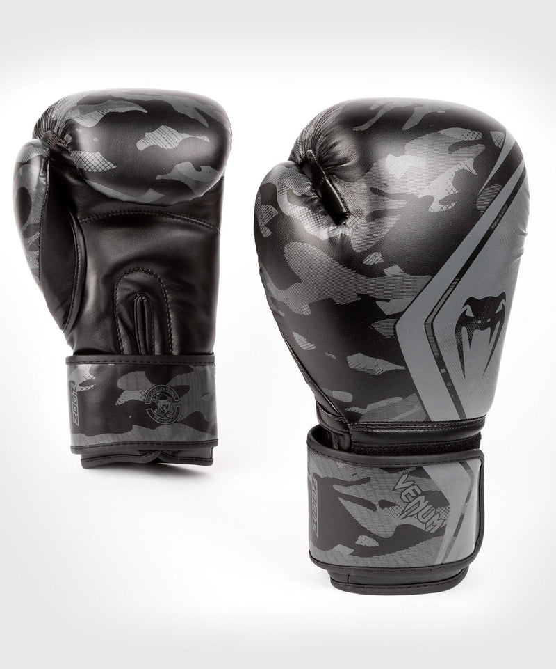 Venum Defender Contender 2.0 Boxing Gloves – Black/Black picture 1