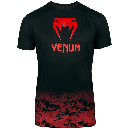 Venum Classic T-shirt – Black/Red picture 1
