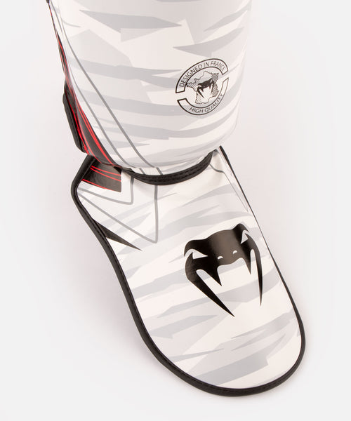 Venum Contender 2.0 Shin Guards - White/Camo picture 2