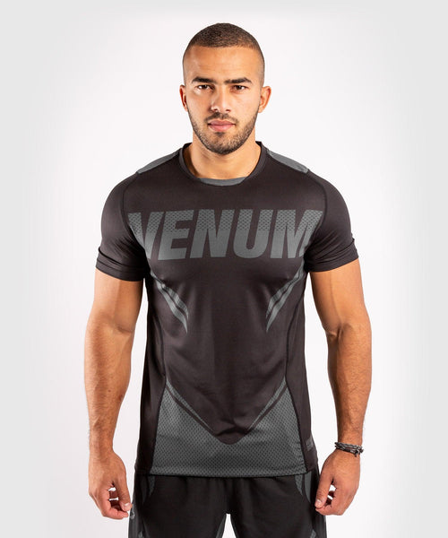 Venum ONE FC Impact Dry Tech T-Shirt - Black/Black - picture 1