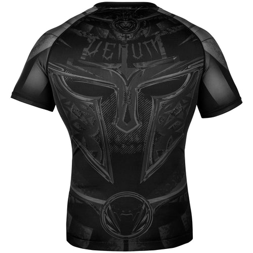 Venum Gladiator 3.0 Rashguard - Short Sleeves – Black/Black picture 4