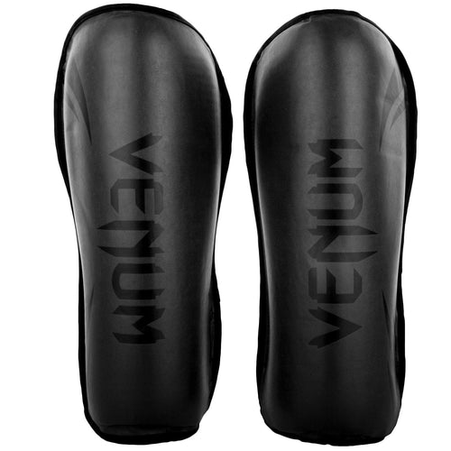 Venum Challenger Shin guards – Black/Black picture 2