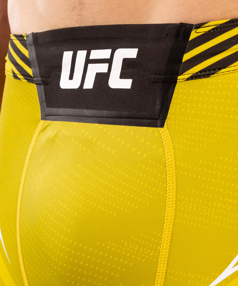 UFC Venum Authentic Fight Night Men's Vale Tudo Shorts - Short Fit – Yellow Picture 5