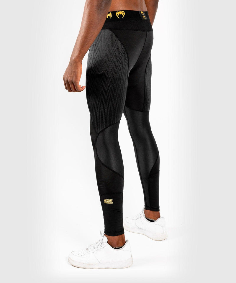 Venum G-Fit Spats – Black/Gold picture 4