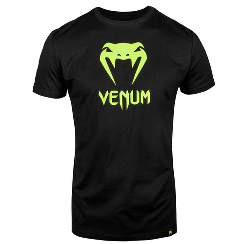 Venum Classic T-shirt - Black/Neo Yellow picture 1