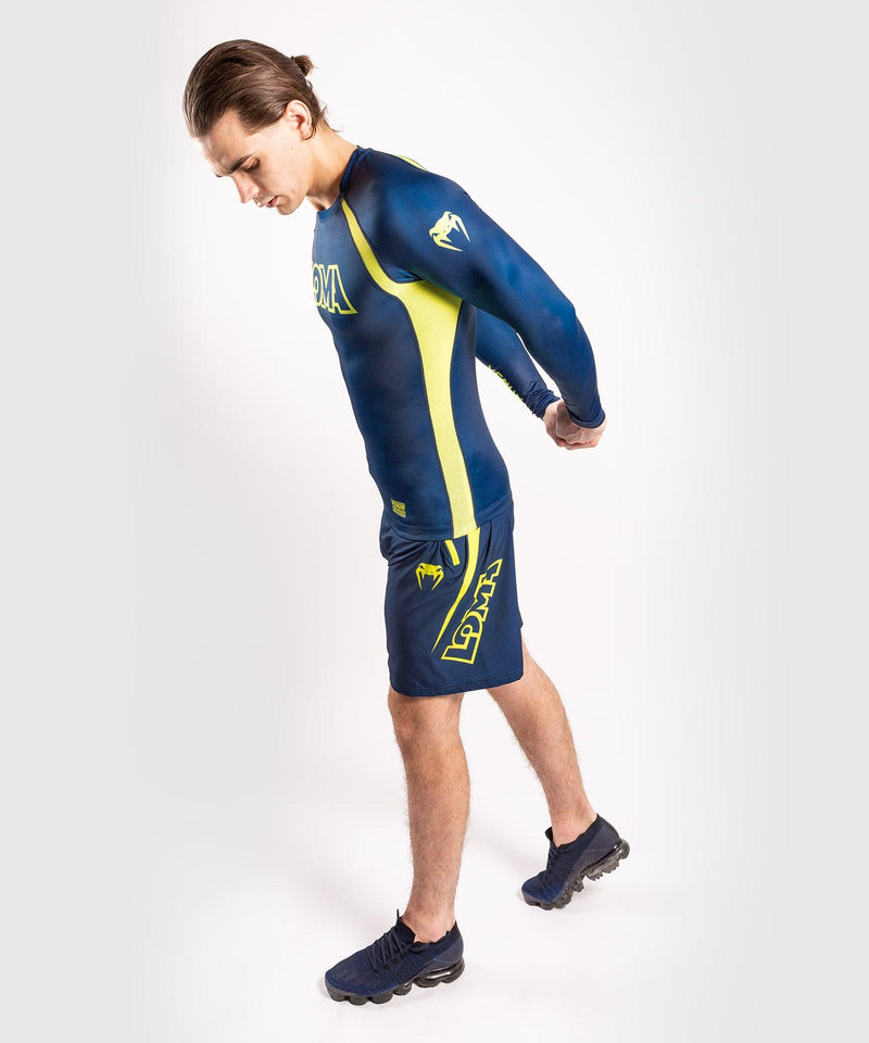 Venum Origins Training short Loma Edition Blue/Yellow picture 9